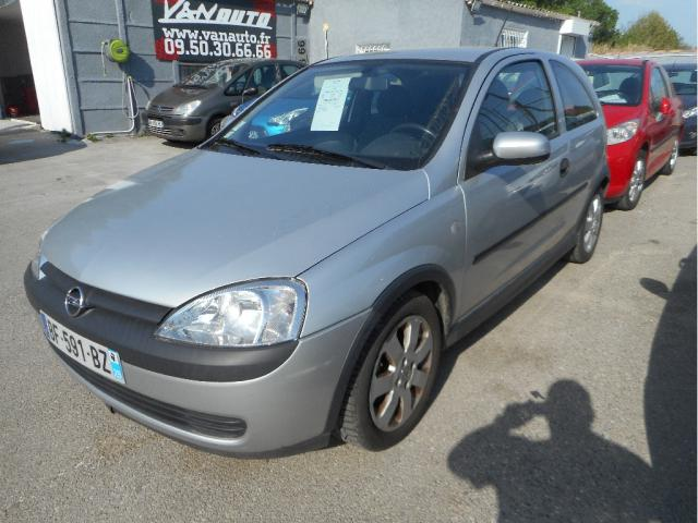 OPEL CORSA 1.2 16v pack clim, voiture occasion