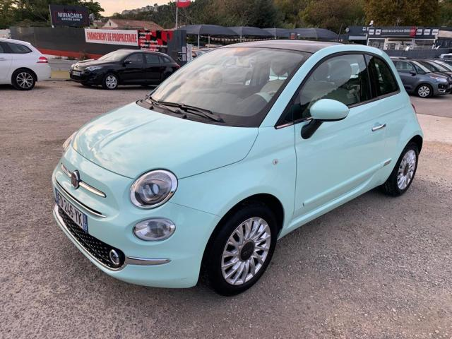 FIAT 500 1.2 69 ch Lounge, voiture occasion